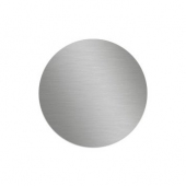 Sticker metalic pentru suport auto magnetic 30 mm , Argintiu