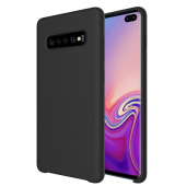 Husa TPU OEM Pure Silicone pentru Samsung Galaxy A20e, Neagra, Blister