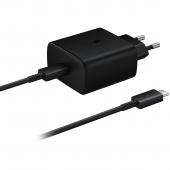 Incarcator Retea Samsung Fast Charge, 1 X USB-Type-C, 45W, Negru EP-TA845XBEGWW