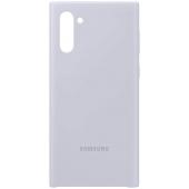 Husa TPU Samsung Galaxy Note 10 N970 / Samsung Galaxy Note 10 5G N971, Argintie, Blister EF-PN970TSEGWW