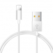 Cablu Date si Incarcare USB la Lightning Joyroom JR-S113, Ben Series, 2A, Quick Charging, 0.25 m, Alb, Blister