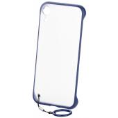 Husa TPU OEM Frameless pentru Apple iPhone XS Max, Bleumarin