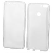 Husa Plastic - TPU OEM Full Cover pentru Apple iPhone 11 Pro Max, Transparenta, Bulk