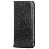 Husa Piele Forcell SHINING Book pentru Samsung Galaxy A40 A405, Neagra
