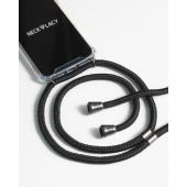 Husa TPU NECKLACY Antisoc cu Snur negru pentru Samsung Galaxy S10 G973, Transparenta 5001397