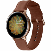 Ceas Bluetooth Samsung Galaxy Watch Active2, Stainless, 44mm, Auriu, Blister SM-R820NSDAROM