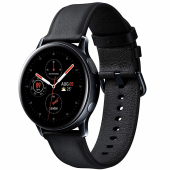 Ceas Bluetooth Samsung Galaxy Watch Active2, Stainless 40mm, Negru, Blister Original SM-R830NSKAROM