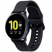Ceas Bluetooth Samsung Galaxy Watch Active2, Aluminium, 44mm, Negru, Blister SM-R820NZKAROM