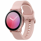 Ceas Bluetooth Samsung Galaxy Watch Active2, Aluminium, 44mm, Roz Auriu, Blister SM-R820NZDAROM