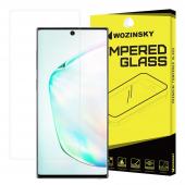 Folie Protectie Ecran WZK pentru Samsung Galaxy Note 10+ N975 / Note 10+ 5G N976, Plastic, Full Face, 3D, Blister