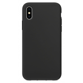 Husa TPU OEM Pure Silicone pentru Apple iPhone 11, Neagra, Bulk