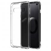 Husa TPU OEM Antisoc pentru Apple iPhone 11 Pro Max, Transparenta, Bulk