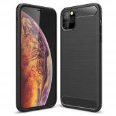 Husa TPU OEM Carbon pentru Apple iPhone 11, Neagra, Bulk