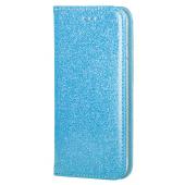 Husa Piele Forcell SHINING Book pentru Apple iPhone 6 / Apple iPhone 6s, Bleu, Bulk