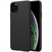 Husa TPU Nillkin Super Frosted pentru Apple iPhone 11 Pro, Neagra, Blister