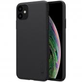 Husa TPU Nillkin Super Frosted pentru Apple iPhone 11, Neagra, Blister