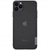Husa TPU Nillkin Nature pentru Apple iPhone 11 Pro, Gri, Blister