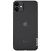 Husa TPU Nillkin Nature pentru Apple iPhone 11, Gri, Blister