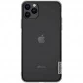Husa TPU Nillkin Nature pentru Apple iPhone 11 Pro Max, Gri, Blister