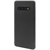 Husa Fibra Carbon Nevox pentru Samsung Galaxy S10 G973, CarbonSeries, Neagra CS-1648