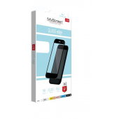 Folie Protectie Ecran MyScreen pentru Huawei P Smart Z, Sticla securizata, Full Face, Full Glue, Neagra, Blister