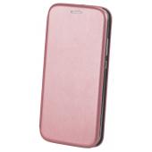 Husa Piele OEM Elegance Universala pentru Telefon 148 x 75 mm, Roz Aurie, Bulk