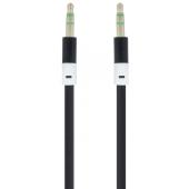 Cablu Audio 3.5 mm la 3.5 mm Forever Audio, 1 m, Negru