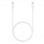 Cablu Date si Incarcare USB Type-C la USB Type-C Samsung EP-DG977BWE, 5A, 1 m, Alb, Bulk