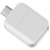 Adaptor OTG USB la USB Type-C Samsung UN930BW, Alb GH96-12489A