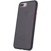 Husa TPU OEM Colored Buttons pentru Apple iPhone 11 Pro, Neagra, Bulk