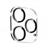 Folie Protectie Camera spate Mocolo pentru Apple iPhone 11 Pro Max, Sticla securizata, 0.15mm, 9H, 2.5D, Neagra