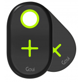 Incarcator Retea Wireless Goui Dual Ultra Charging Pad QI, Fast Wireless, 20W, Negru, Blister G-2WIRELESS20W