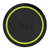 Incarcator Retea Wireless Goui Loop QI, Fast Wireless, 15W, Negru G-WC10WQI-K