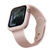 Husa TPU Uniq Lino pentru Apple Watch Series 6 / 5 / 4 / SE 40mm, Roz Blister