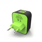Incarcator Retea USB Goui Spot +D, PD Charge, 30W, 1 X USB - 1 x USB Type-C, Negru G-TC2PD-01K