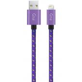 Cablu Date si Incarcare USB la Lightning Goui, 1 m, Mov G-8PINFASHIONP