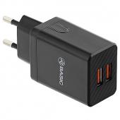 Incarcator Retea USB Tellur HC204, 2.4A, 2 X USB, Negru, Blister TLL151211