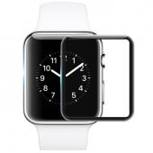 Folie Protectie Ecran Mocolo pentru Apple Watch Series 6 44mm / Apple Watch SE 44mm / Apple Watch Series 5 44mm / Apple Watch Series 4 44mm, Sticla securizata, 0.33mm, 9H, 3D