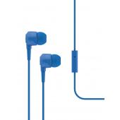 Handsfree Casti In-Ear TTEC J10, Cu microfon, 3.5 mm, Albastru 2KMM10M