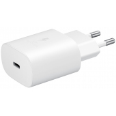 Incarcator Retea USB Samsung EP-TA800EWE, Fast Charge, 25W, 1 X USB Tip-C, Alb