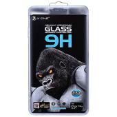 Folie Protectie Ecran X-One pentru Apple iPhone 11 Pro Max, Sticla securizata, Full Face, Full Glue, 9H, Extra Strong Matte, Blister
