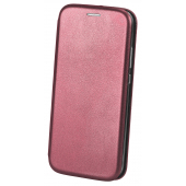Husa Piele OEM Elegance pentru Samsung Galaxy A10 A105, Visinie, Bulk