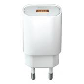 Incarcator Retea USB Forever Core UltraFast, Quick Charge 3.0, 18W, 1 X USB, Alb