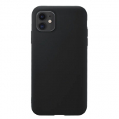 Husa TPU OEM Pure Silicone MP pentru Apple iPhone 11, Neagra