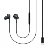 Handsfree Casti In-Ear Samsung EO-IG955, AKG, Cu microfon, USB Type-C, Negru GH59-15106A