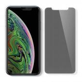 Folie Protectie Ecran Spigen pentru Apple iPhone 11 Pro Max, Sticla securizata, Privacy, cu rama pentru montaj, Blister