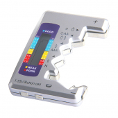 Tester Digital pentru  Acumulatori C / D / N / 9V / AA / AAA / 1.5V