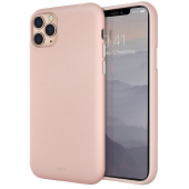 Husa TPU UNIQ Lino Apple iPhone 11 Pro, Roz, Blister