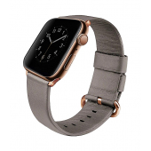 Curea Piele UNIQ Mondain Apple Watch Series 1 / 2 / 3/ 4 / 5 / 6 / SE (38/40mm), Bej, Blister