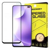 Folie Protectie Ecran WZK pentru Xiaomi Redmi K30, Sticla securizata, Full Face, Full Glue, Neagra, Blister